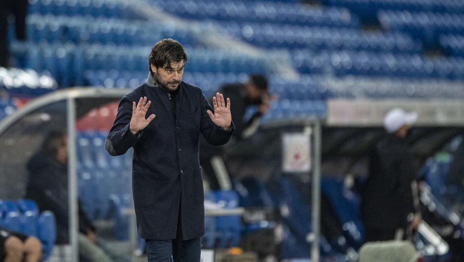 Trainer Sforza: Seit dieser Saison beim FC Basel unter Vertrag