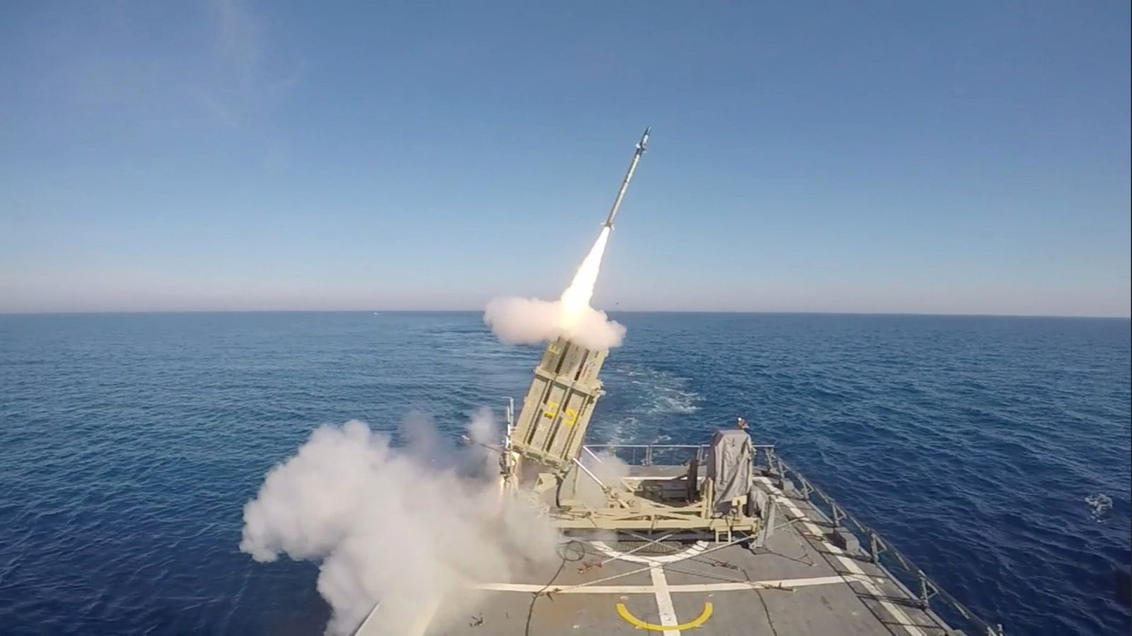 Israel Iron Dome Test