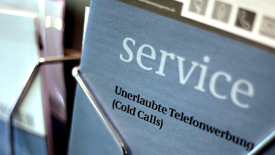 Hilfestellung gegen unerlaubte Telefonwerbung: ??Mit Nachdruck gegen die Verursacher??
