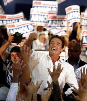 Gouverneur Schwarzenegger: Politik kann so viel Spaß machen