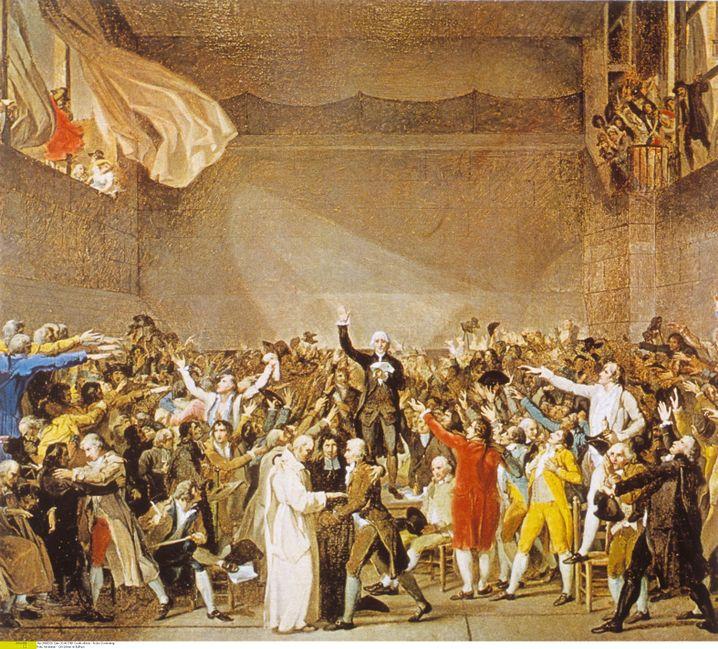 Volksvertreter in Versailles 1789: Auch Montesquieu und Rousseau glaubten an das Losverfahren