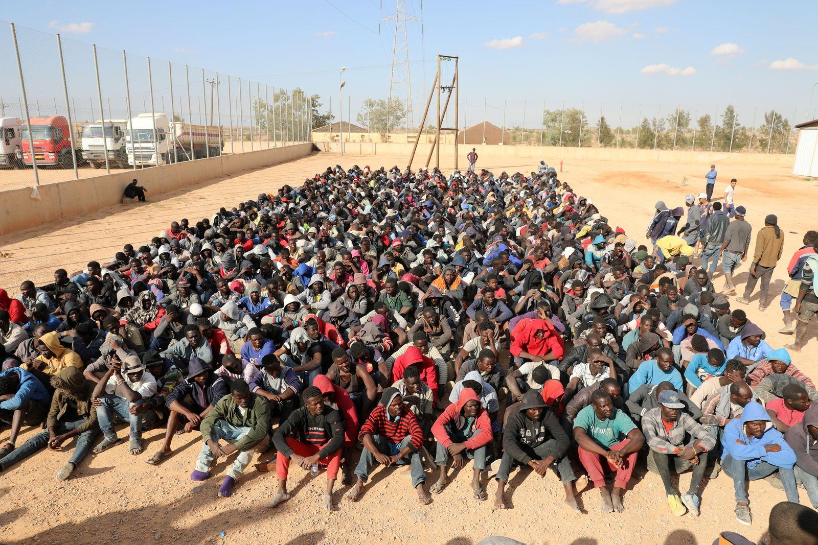 "Libyen/ ""Sklavenmärkte"""