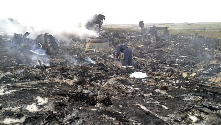 Malaysia Airlines: Flugzeugabsturz in der Ukraine