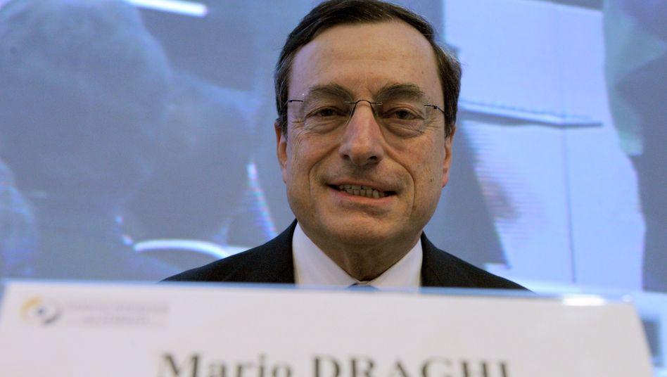 Mario Draghi: Die Kanzlerin hat keine fachlichen Bedenken