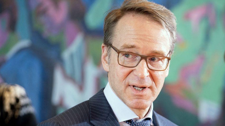Bundesbank-Chef Jens Weidmann (Archiv)