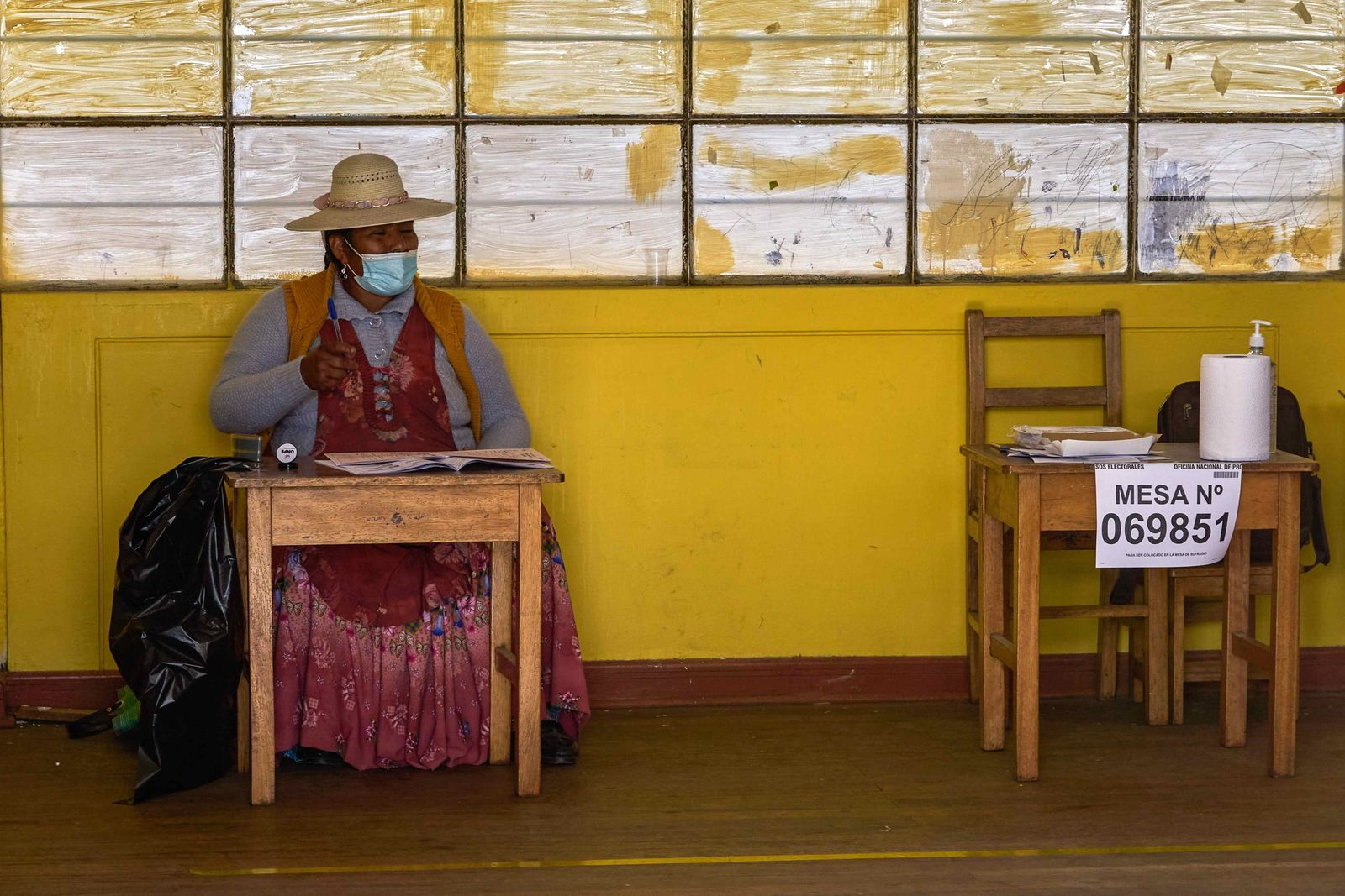 Election day begins to elect the president of 2021-2026 in Peru