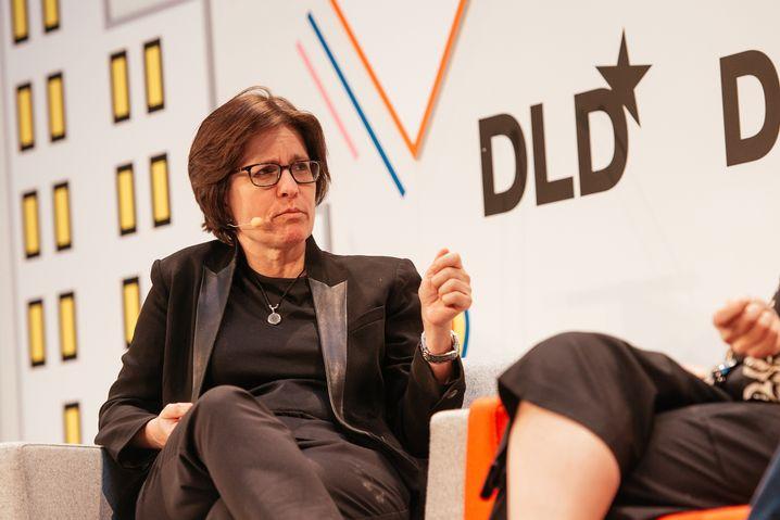 Kara Swisher auf der DLD-Konferenz