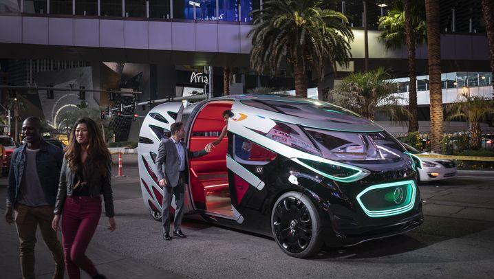 CES in Las Vegas: Die Parade der Roboterbusse