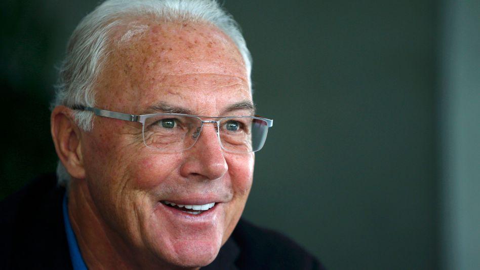 """Fußballfunktionär Beckenbauer: """"Kein Geld gehabt"""""""