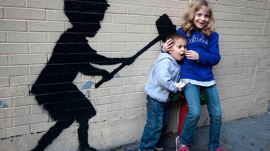 Graffiti-Künstler Banksy: Das Bilder-Rätsel von New York