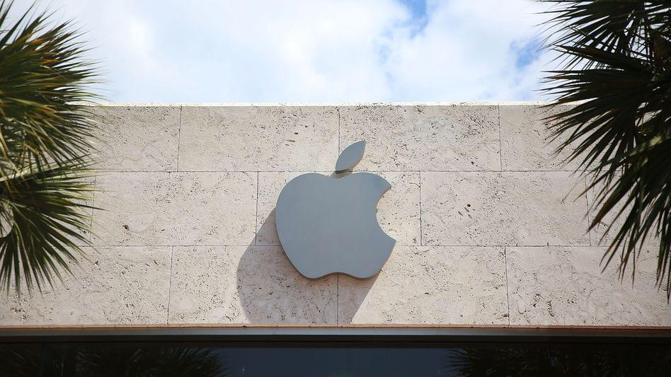 Apple-Logo in Miami Beach