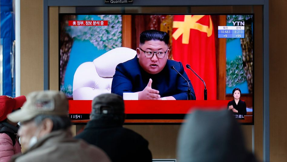TV-Bericht über Kim Jon Un (Archiv)
