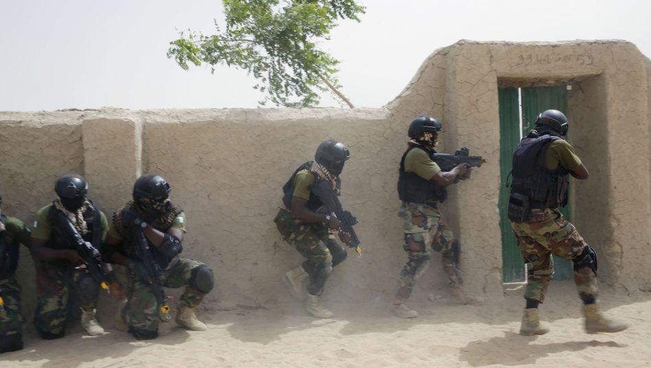 Nigerianische Spezialkräfte (Archivfoto)