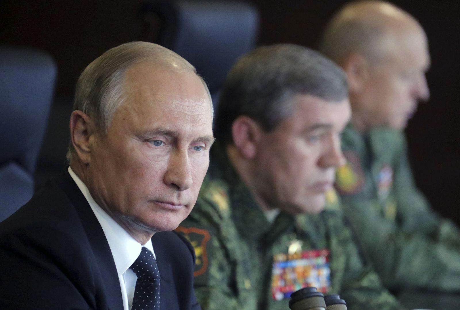 Putin / Generäle