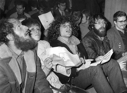 """Mitglieder der Kommune I, 1968 (Dieter Kunzelmann, Antje Krüger, Rainer Langhans und Fritz Teufel): """"Die neue Linke glaubte, auf der guten Seite der Geschichte zu stehen"""""""