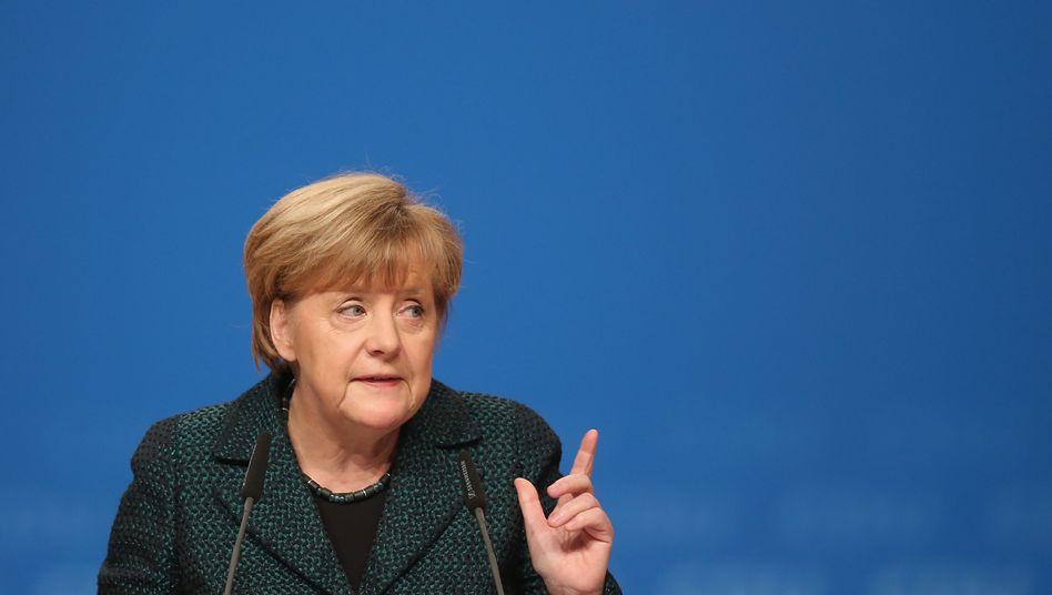 Attacke bei CDU-Parteitag: Warum Merkel jetzt die SPD mobbt