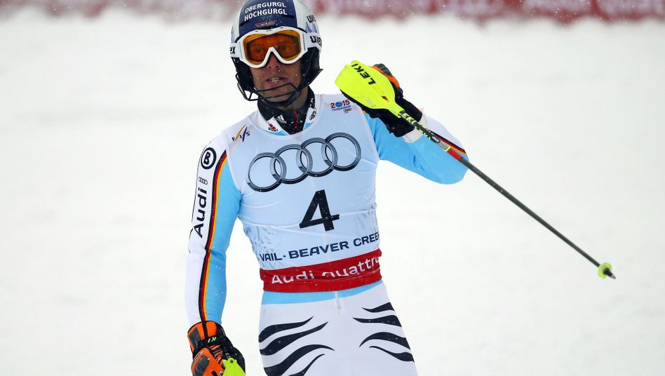 Skirennfahrer Dopfer: WM-Silber im Slalom