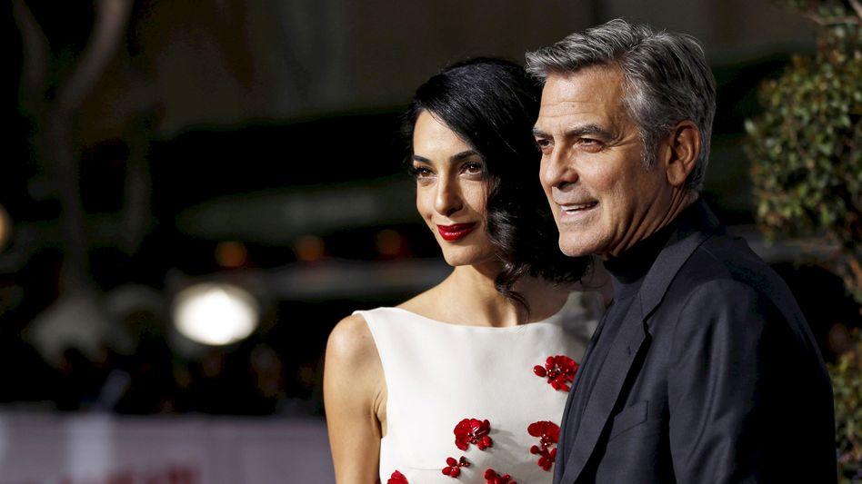 Amal und George Clooney (Archivbild)