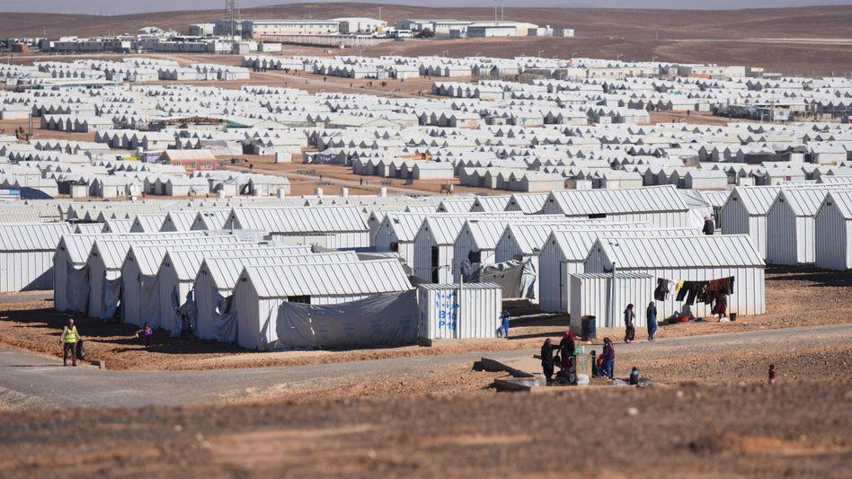 Flüchtlingslager in Azraq, Jordanien (Archiv)