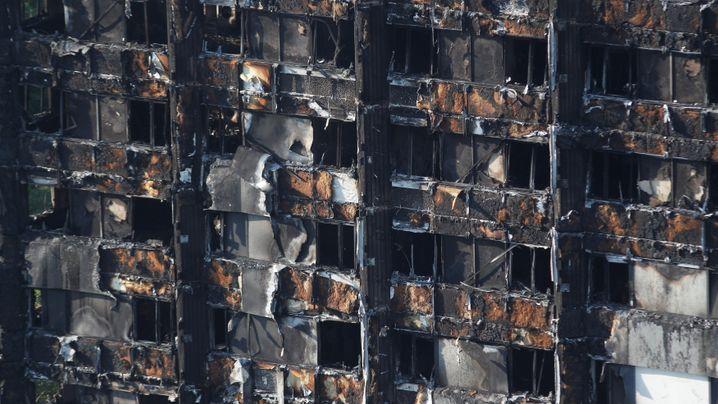 Brand im Grenfell Tower: Der Tag nach dem Inferno