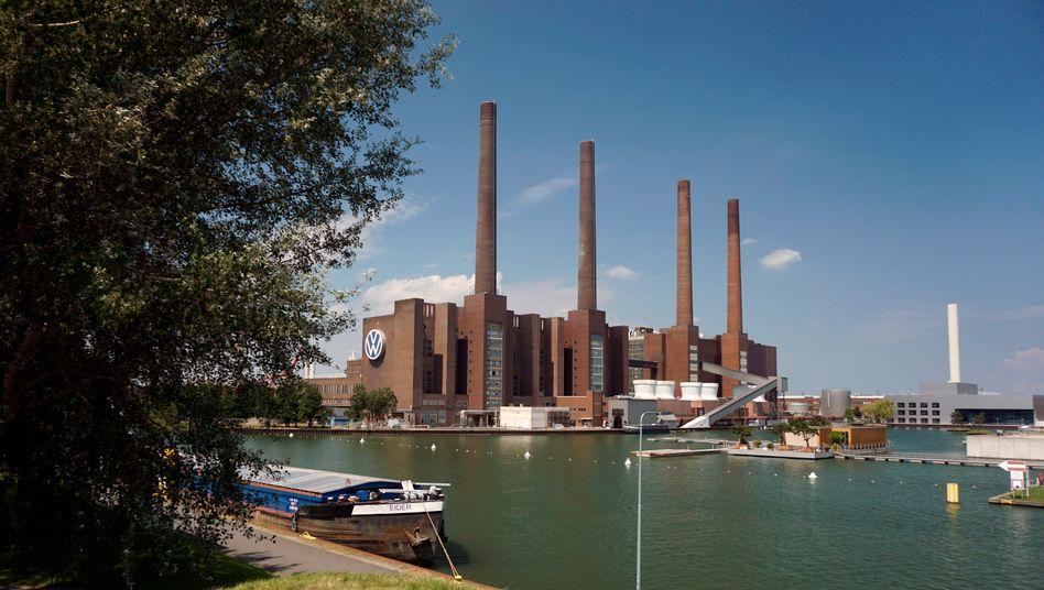 Hauptwerk von Volkswagen in Wolfsburg
