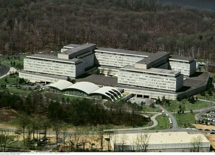 Geheimdienstzentrale in Langley, Virginia, 1967