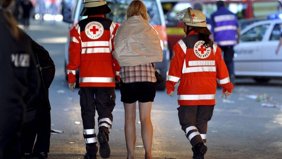 Rettungskräfte in Duisburg: Es droht ein langer Rechtsstreit über die Haftungsfrage