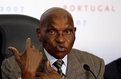 "Senegals Präsident Abdoulaye Wade: ""Alles, was berichtet wird, ist falsch"""