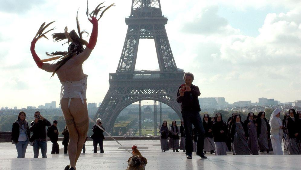 Künstler Steven Cohen: Der nackt mit dem Hahn tanzte