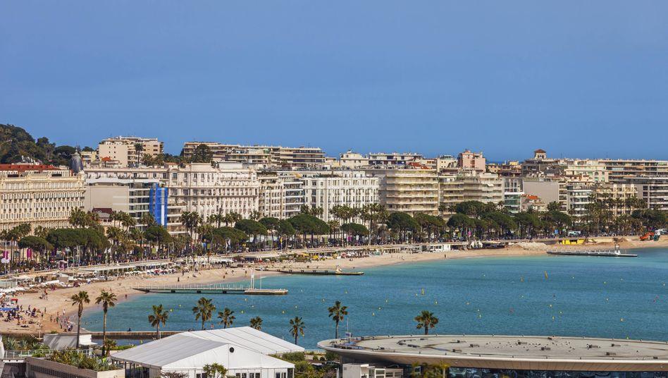 Cannes in Frankreich: Panik an der Croisette