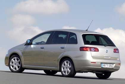 Fiat Croma: Hoch aufragender Kombi mit exzellentem Platzangebot