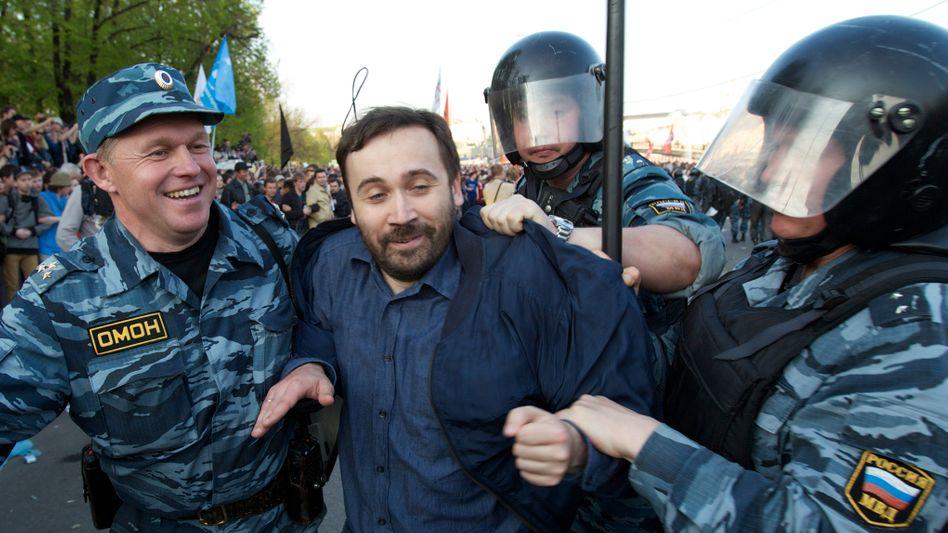 Putins Propaganda: In der Ukraine-Krise gilt Ilja Ponomarjow, Duma-Abgeordneter, als Abtrünniger (Archivbild von 2012)