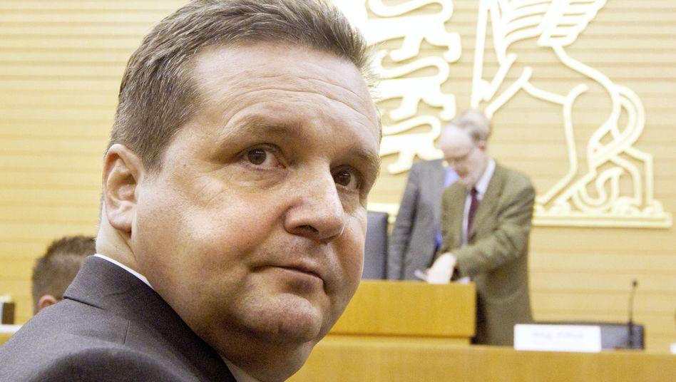 Ex-Ministerpräsident Mappus (Archivbild): Ermittlungen könnten noch andauern
