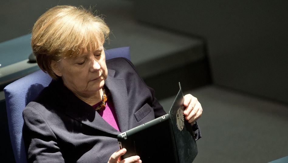 Kanzlerin Merkel: Große Koalition, großer Gipfel, große Worte - wenig dahinter