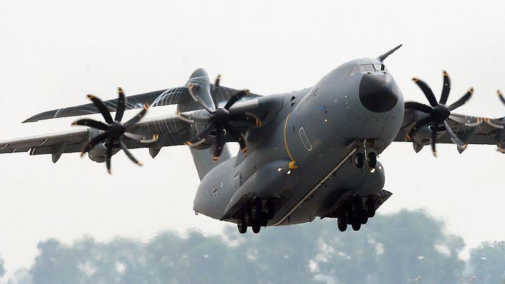 """Fotostrecke: Lange Wartezeit auf A400M und """"Eurofighter"""""""
