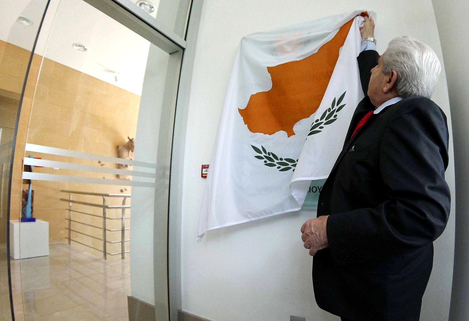 Zypern / Euro / Demetris Christofias