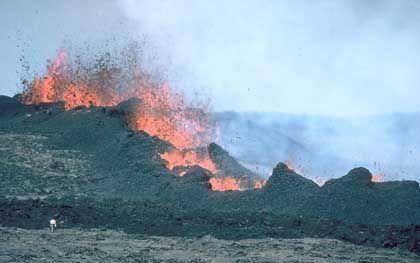 Vulkan-Eruption (Mauna Loa, Hawaii): Welchen Weg nimmt das Magma?