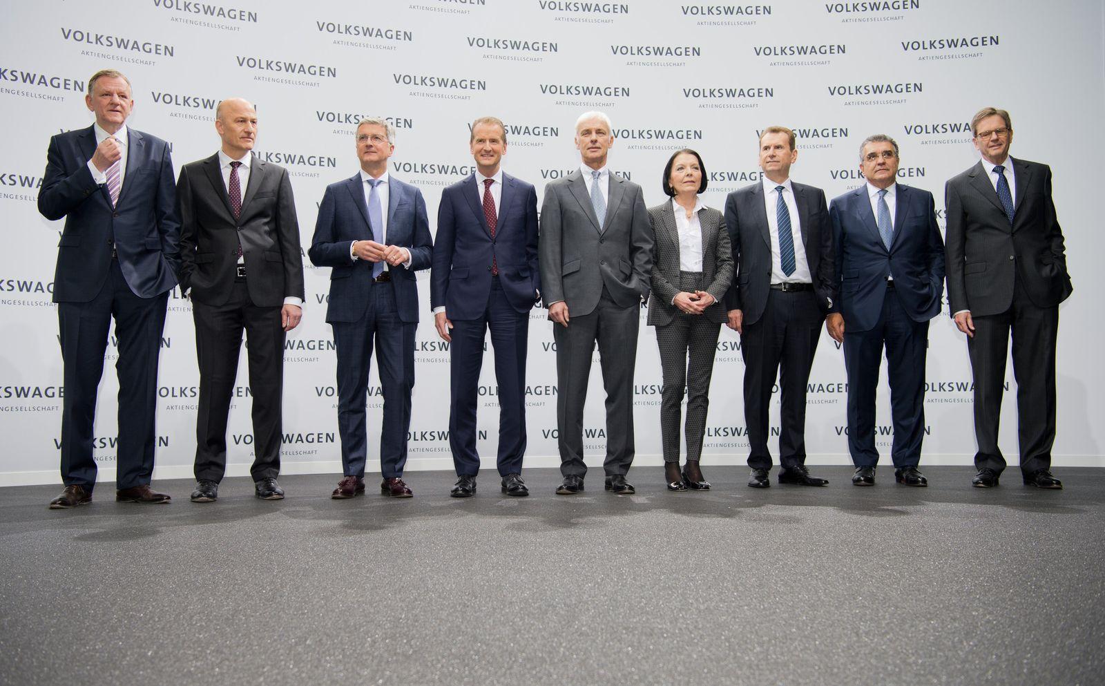 NUR FÜR SPAM Volkswagen - Bilanzpressekonferenz