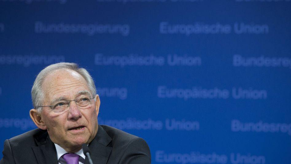 Finanzminister Wolfgang Schäuble: Daheim geschätzt