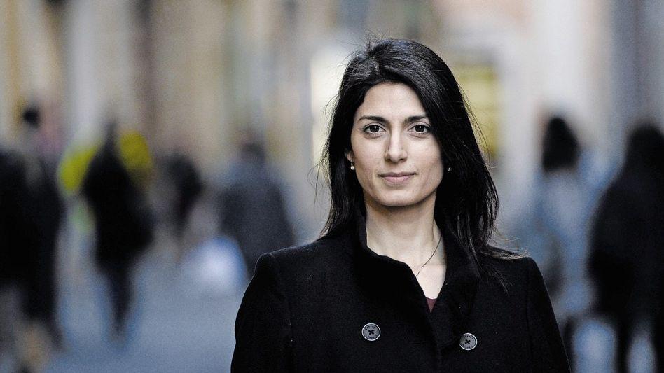 Bürgermeisterbewerberin Raggi: Aufräumen in der zynischsten und zornigsten Stadt Italiens