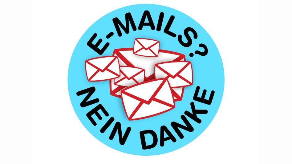 """""""E-Mails? Nein Danke"""": Der Blick in den Posteingang bedeutet oft nur noch Arbeit"""