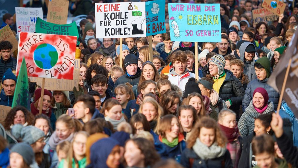 Schülerstreik gegen Klimawandel: Demonstrieren während des Unterrichts