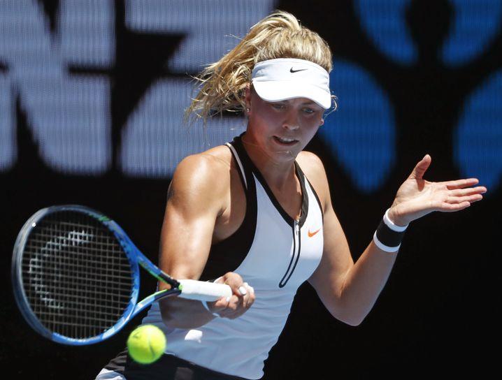 Witthöft 2017 bei den Australian Open