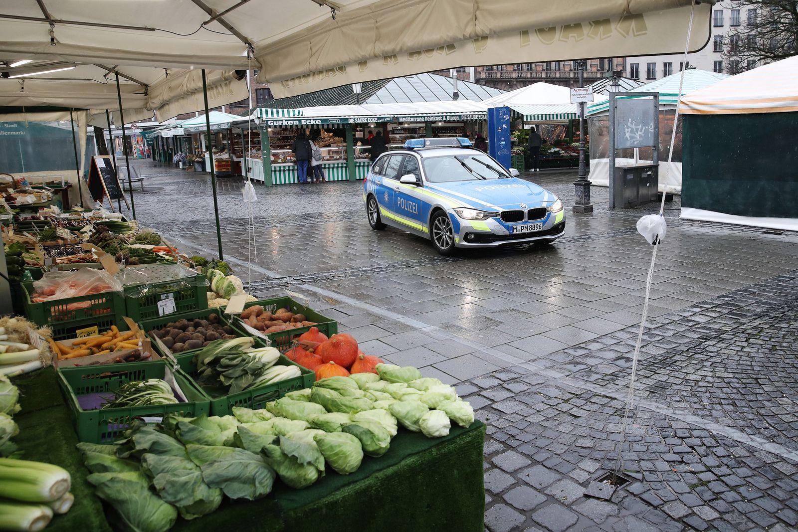 Bavaria Starts Dawn-To-Dusk Curfew As Measure To Slow Coronavirus Spread