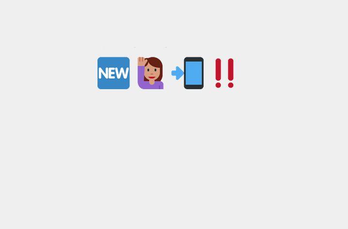 Soziales Netzwerk Emoji: Chatten mit Symbolen