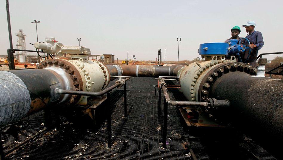 Öllieferung nach China: Kämpfe legen Ölfelder im Südsudan lahm