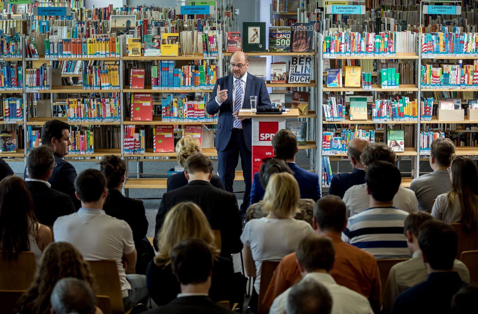 Martin Schulz / Bildungspolitik
