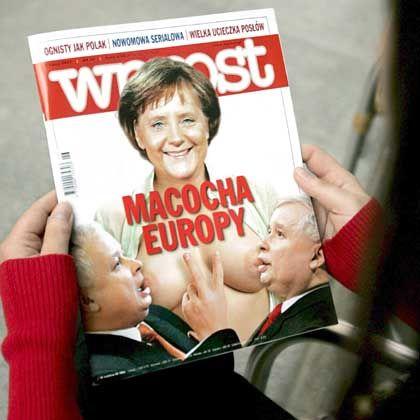 "Wochenmagazin ""Wprost"": ""Stiefmutter Europas"""