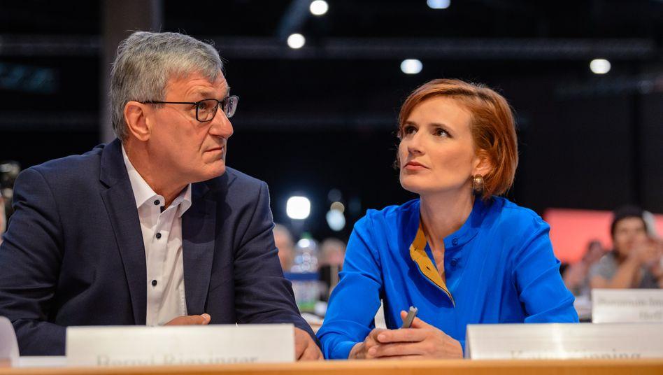 Parteichefs Bernd Riexinger, Katja Kipping
