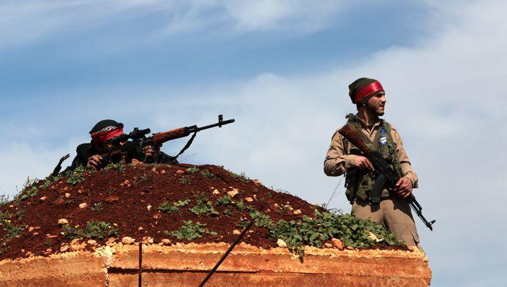 Türkische Militäroffensive: Schlacht um Afrin